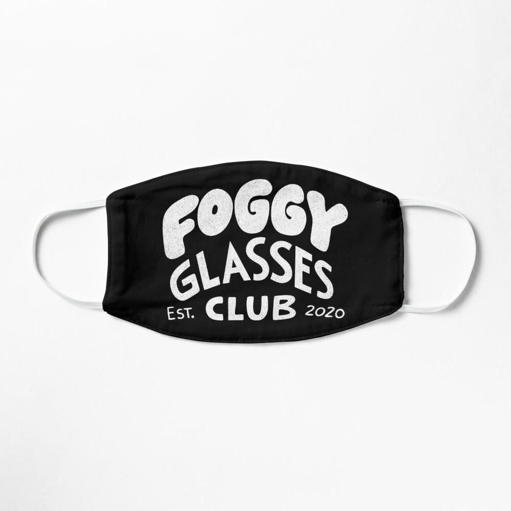 Foggy Glasses Club Mask