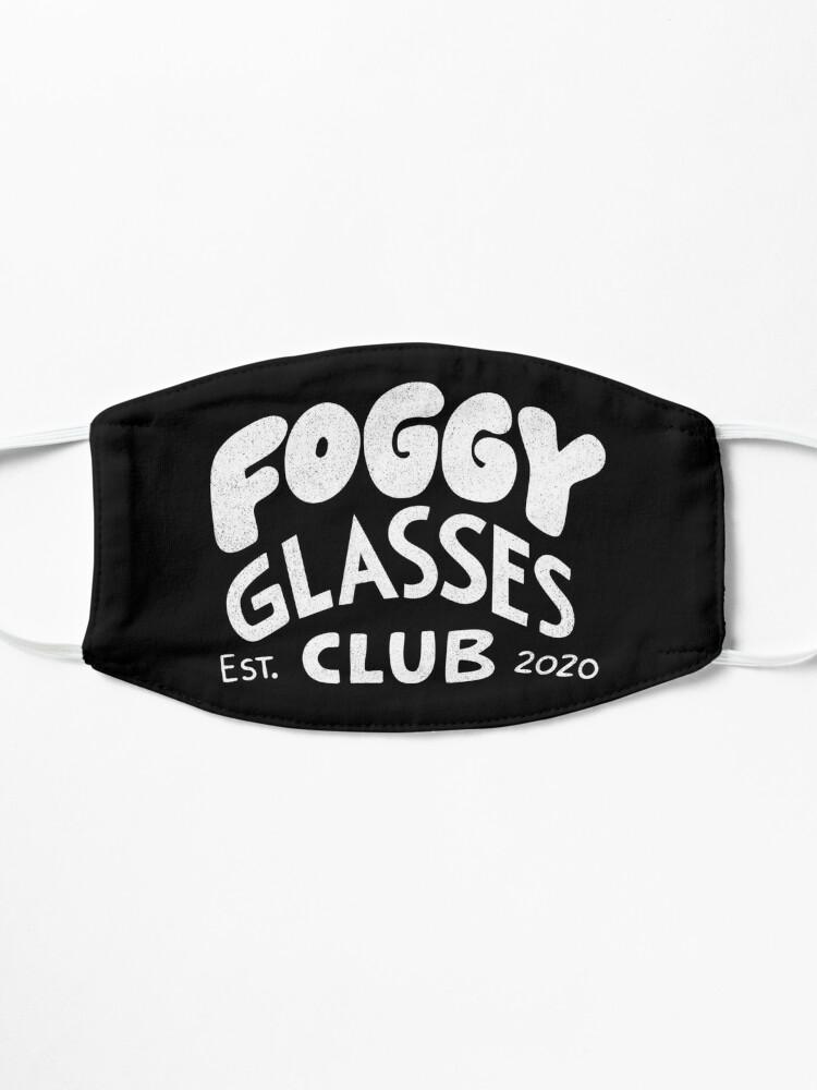 Alternate view of Foggy Glasses Club Mask