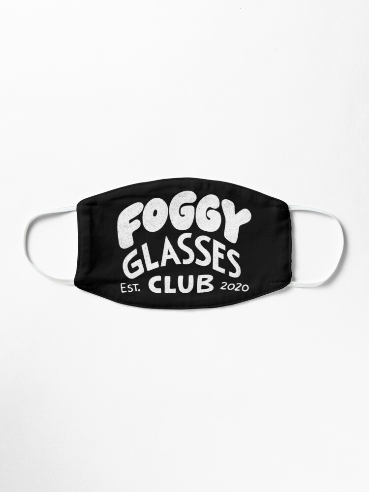 Alternate view of Foggy Glasses Club Mask