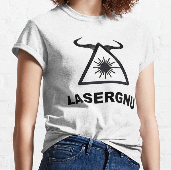 LASERGNU (Warning)  Classic T-Shirt