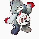 Zombie Bear has a one track mind by azummo