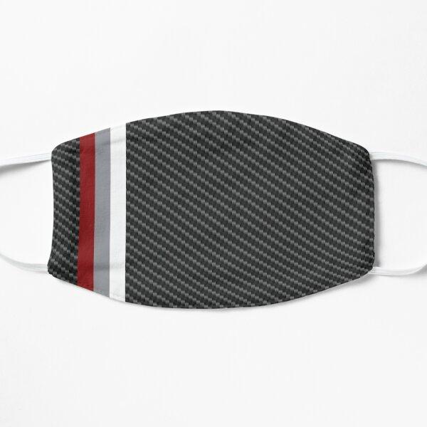 Carbon Fiber Porsche Racing Lines Flat Mask