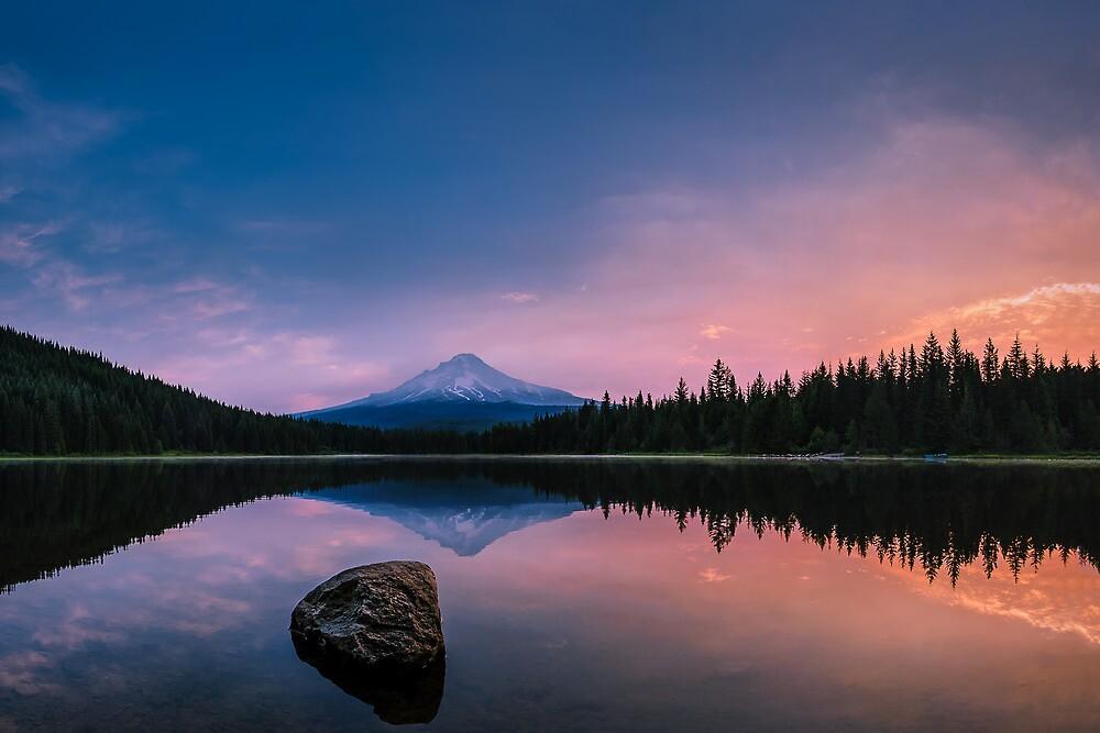 Mount Hood Magic by Dan Mihai