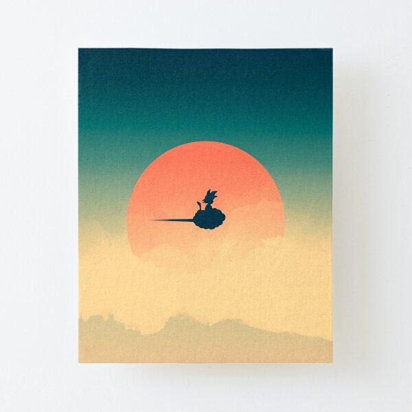 Flying Nimbus Canvas Mounted Print