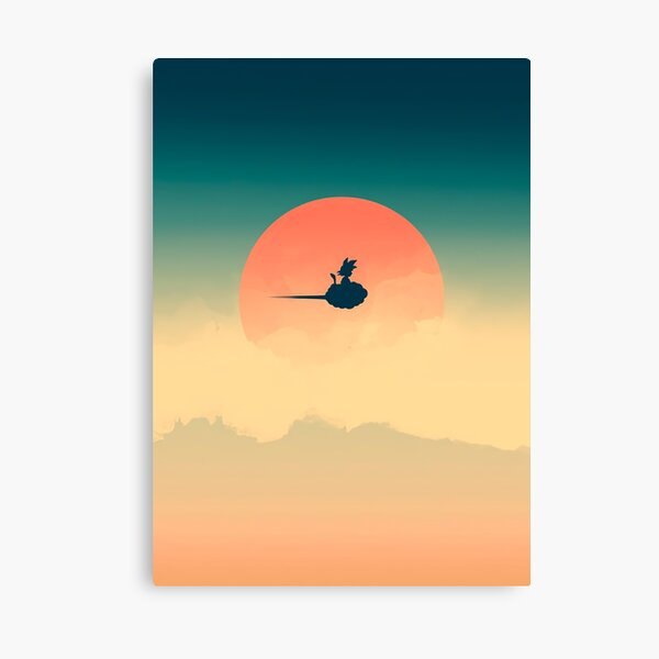 Flying Nimbus Canvas Print