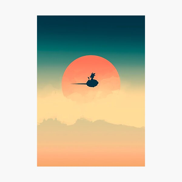 Flying Nimbus Photographic Print