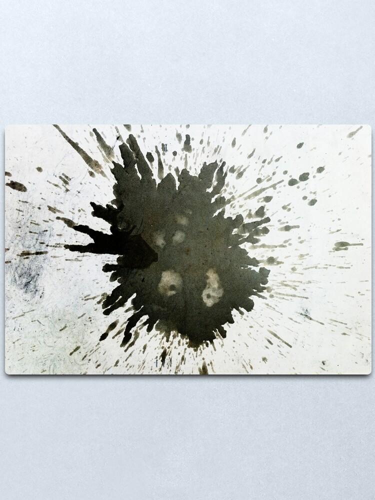 Alternate view of Splash Metal Print