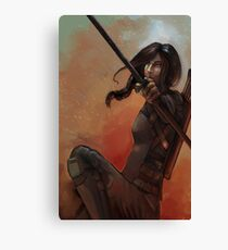 The Mockingjay  Canvas Print