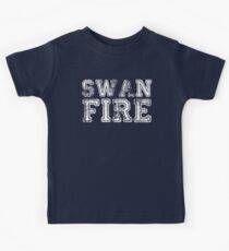 One Upon a Time - Swan Fire Kids Tee
