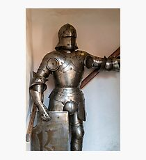 Knight armour. Photographic Print