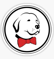 Classy Dog Sticker