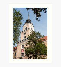 Castle of Rzeszow. Art Print