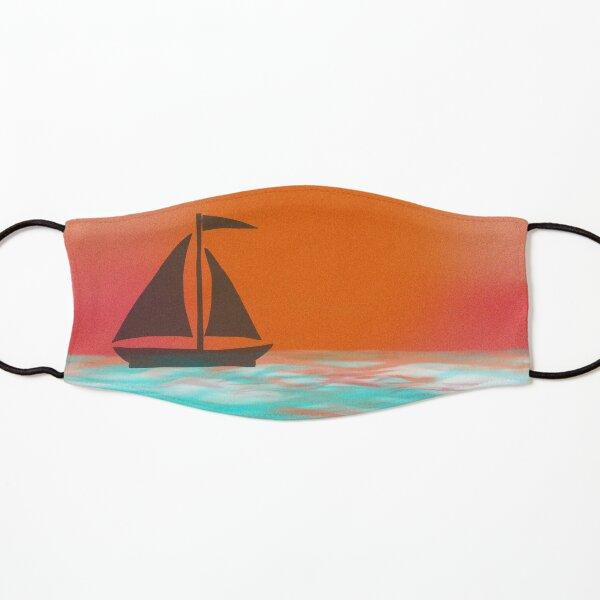 Sunset Sailboat Kids Mask