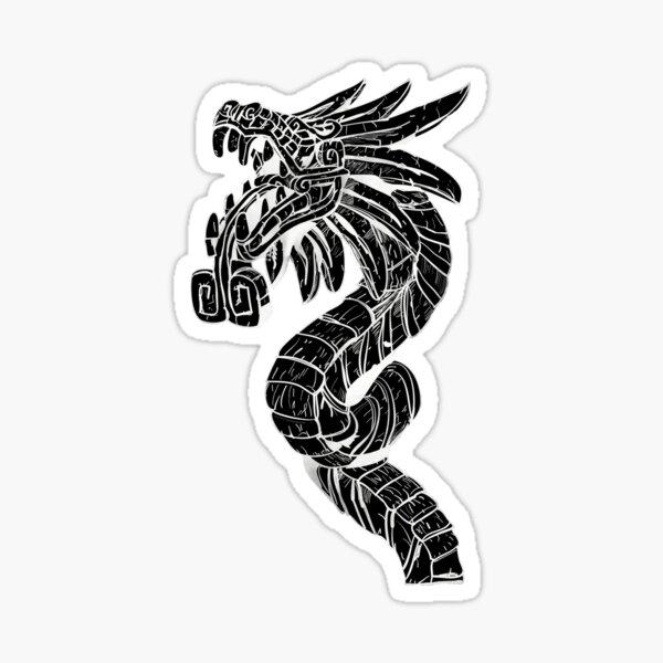 Quetzalcoatl Dragon  Sticker