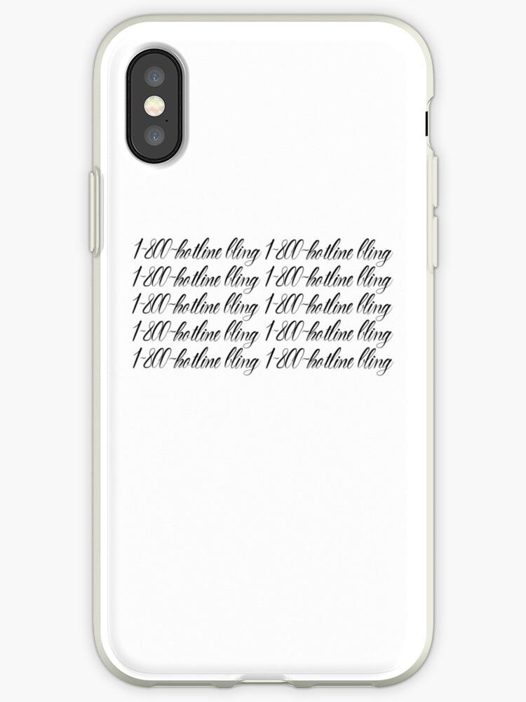 premium selection dfbea 18640 'Drake - 1-800 Hotline Bling' iPhone Case by feelngevaporatd