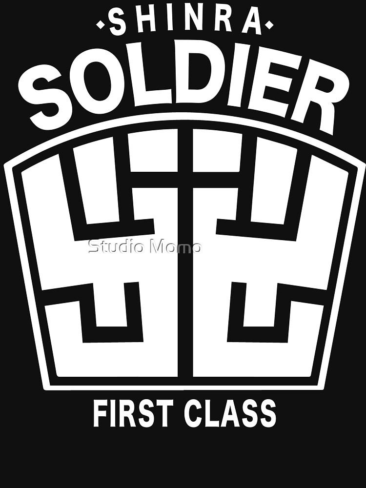 Final Fantasy VII - SOLDIER First Class Logo | Unisex T-Shirt