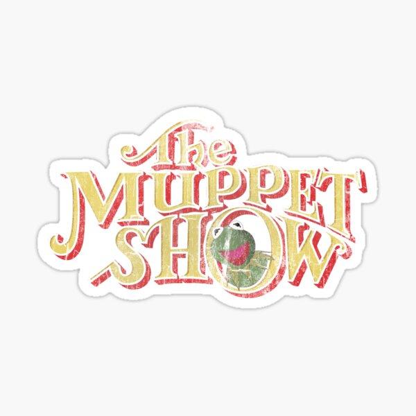 Vintage Muppet Show Sticker