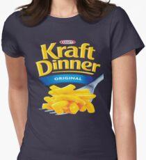 Kraft Dinner Mac 'n' Cheese T-Shirt Women's Fitted T-Shirt