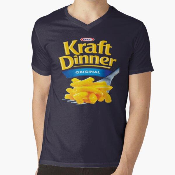 Kraft Dinner Mac 'n' Cheese T-Shirt V-Neck T-Shirt