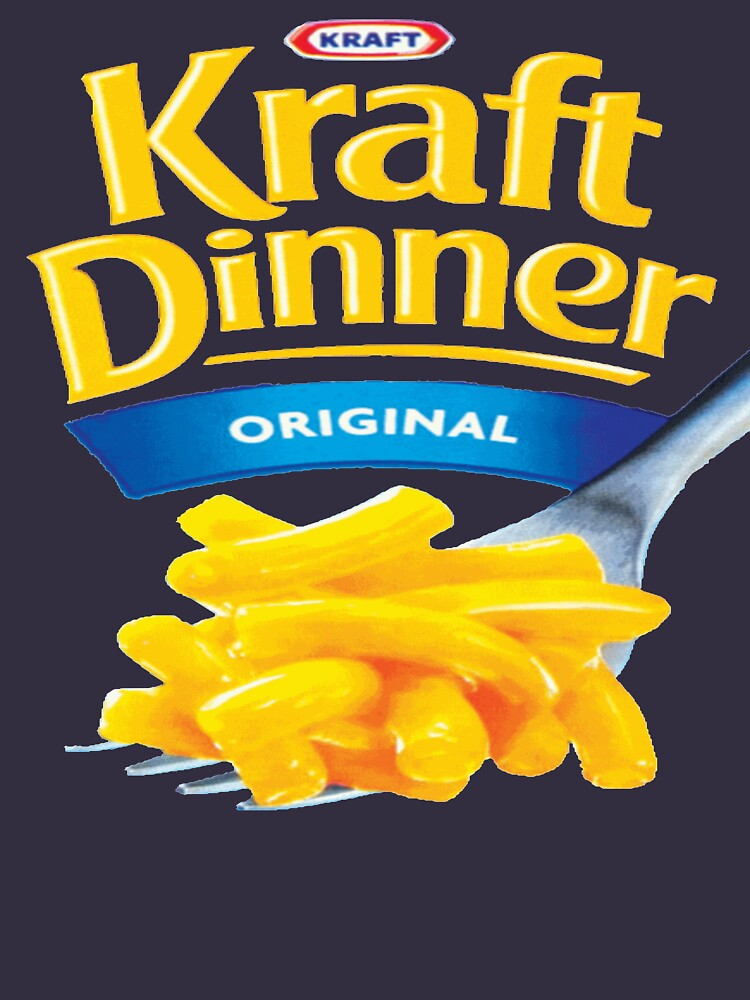 Kraft Dinner Mac 'n' Cheese T-Shirt | V-Neck