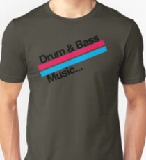 Drum & Bass F2 Unisex T-Shirt