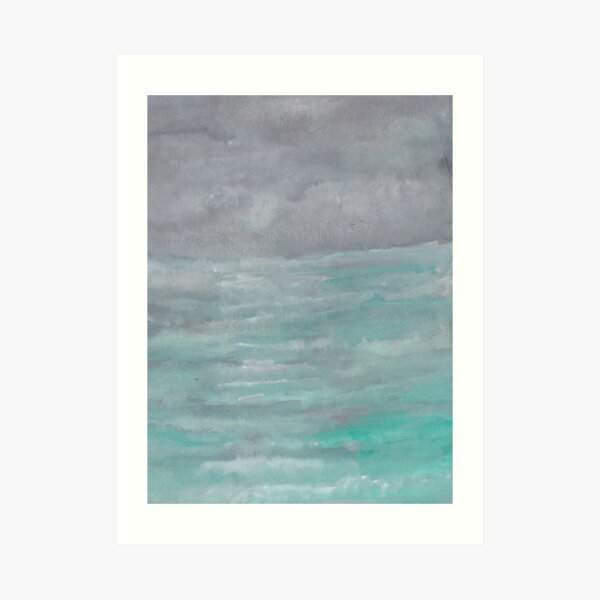 Winter Seascape Art Print