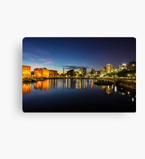Salthouse Dock - Liverpool Canvas Print