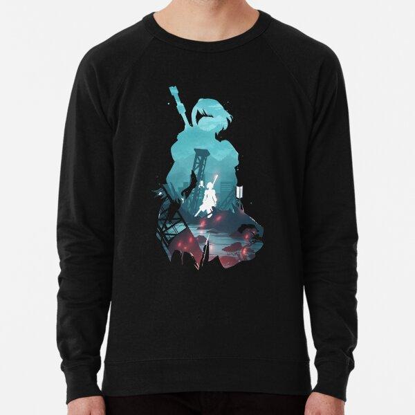 Nier Automata 2B waifu Sweatshirt léger