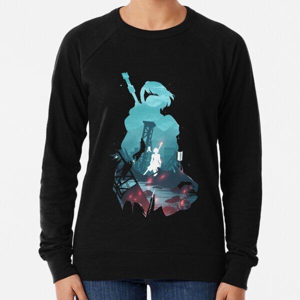 Nier Automata 2B waifu Lightweight Sweatshirt