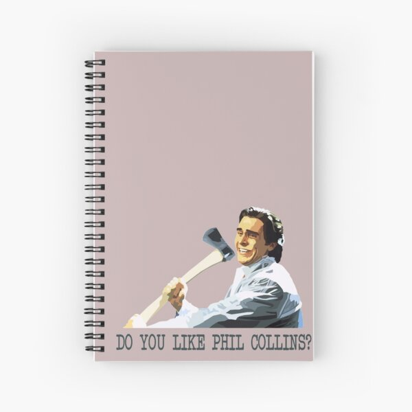 American Psycho Spiral Notebook