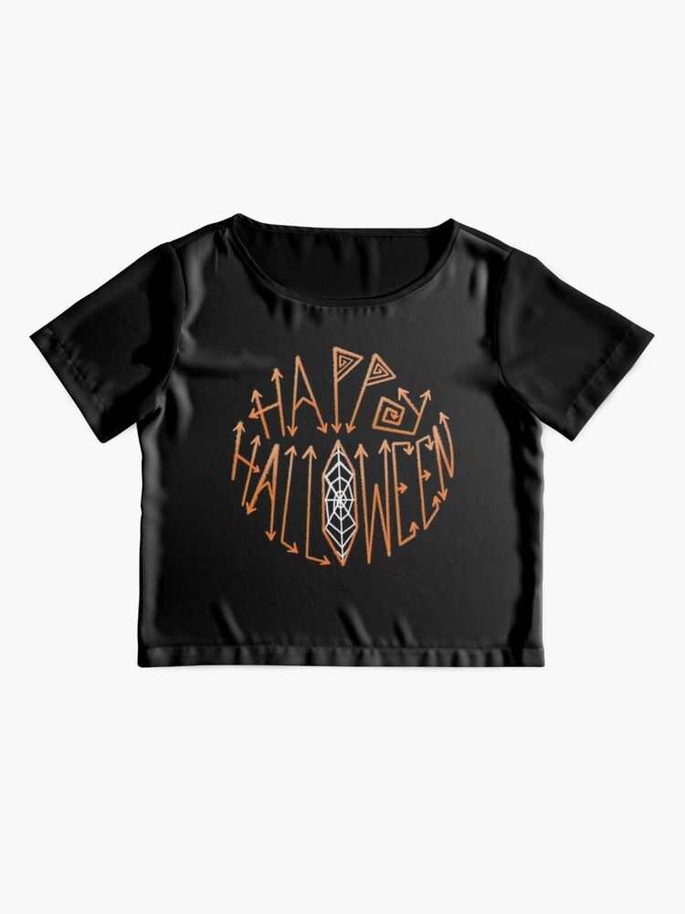Alternate view of Happy Halloween Chiffon Top