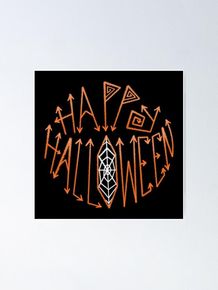 Alternate view of Happy Halloween Poster
