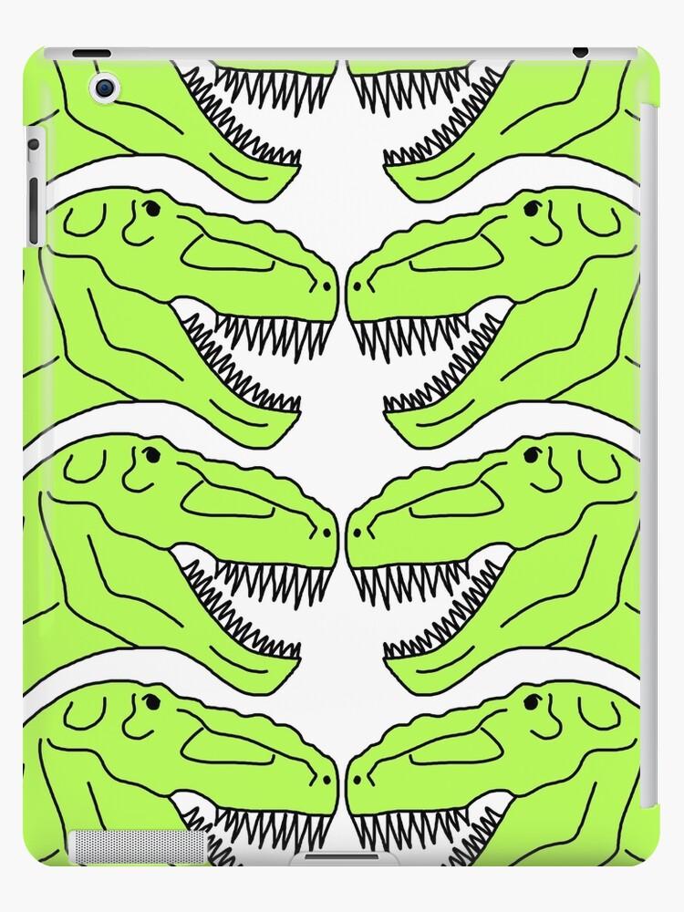 Tyrannosaurus Rex Dinosaur Pattern by jenaardell