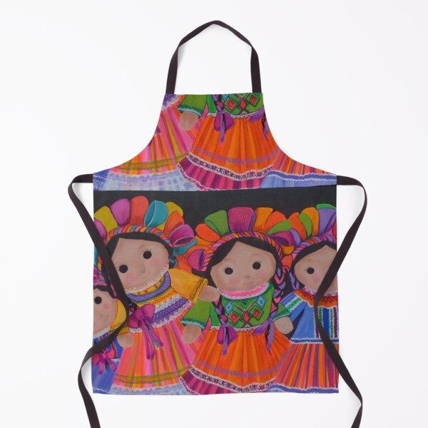 Mexican litte dolls Apron