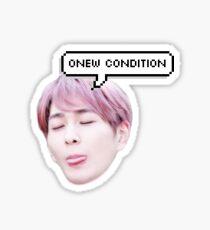 onew Sticker