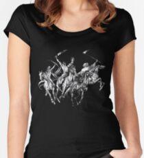 Camiseta entallada de cuello redondo Cuatro jinetes del Apocalipsis