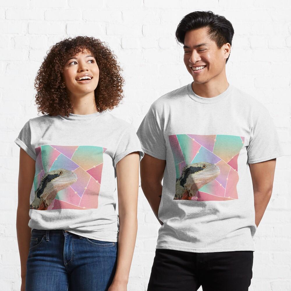 Geometric Pattern Australian Water Dragon Classic T-Shirt
