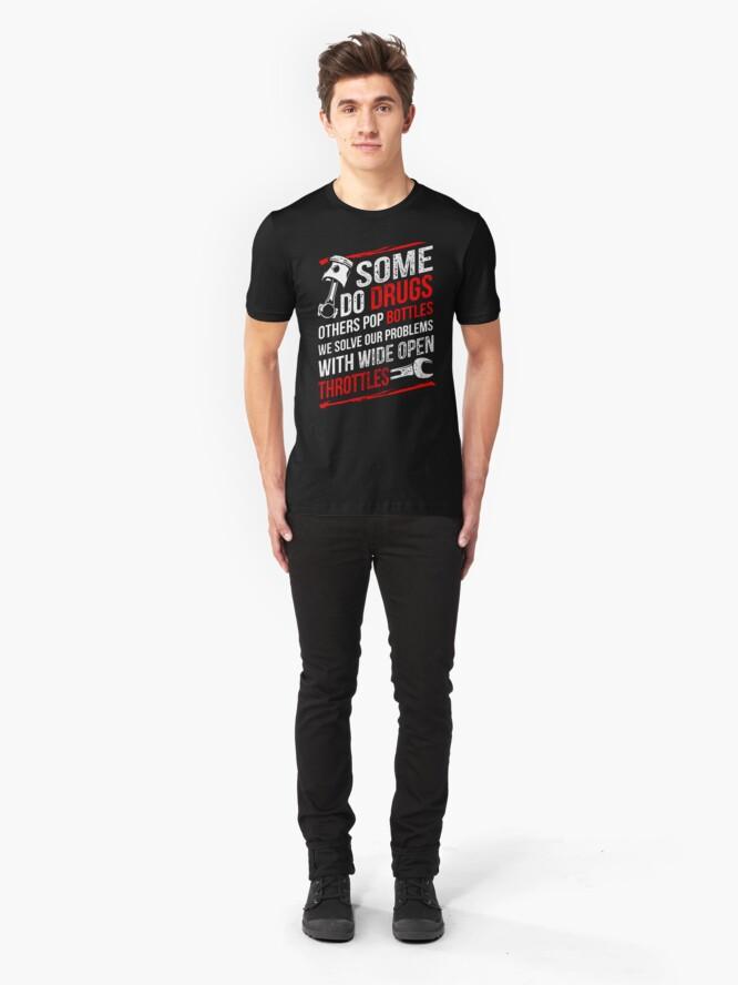 Alternate view of mechanic  Slim Fit T-Shirt