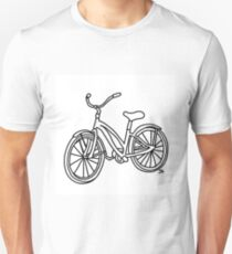 Beach Cruiser Bicycle  T-Shirt
