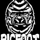 The Face of Bigfoot by MetalheadMerch