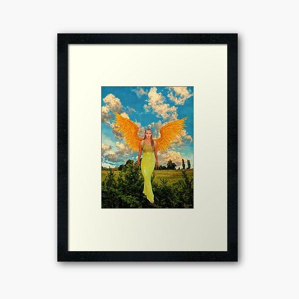 """""""Blossom Fairy"""" Framed Art Print"""