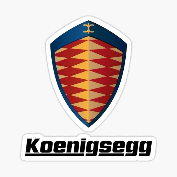 Koenigsegg Sticker