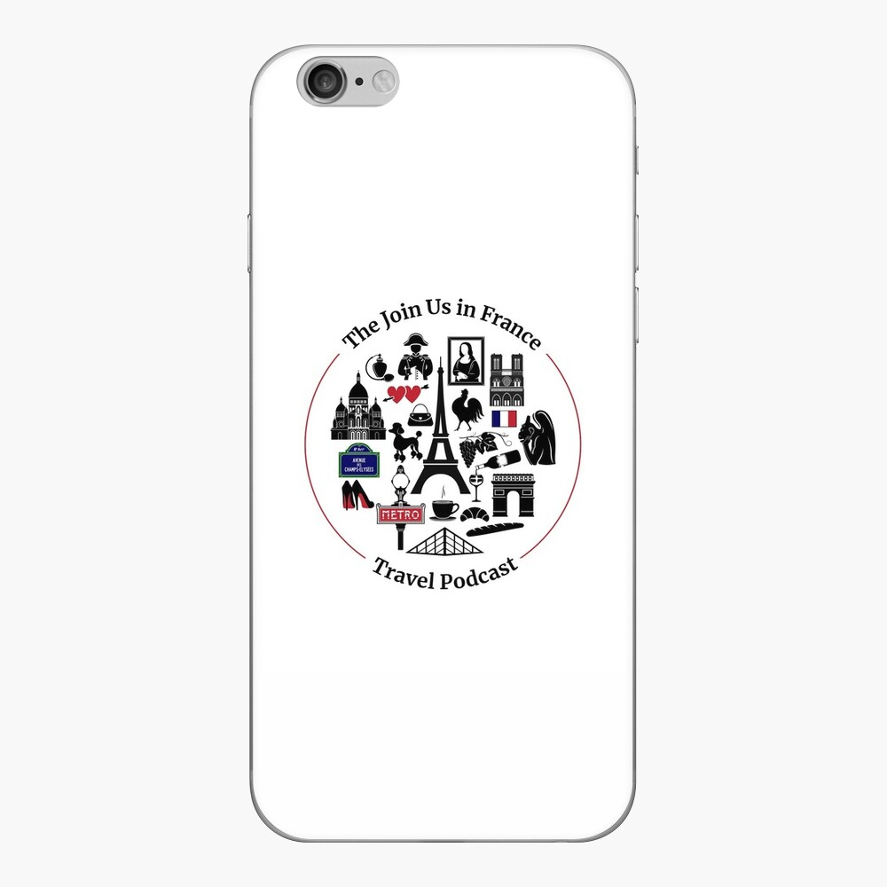 Join Us in France Logo iPhone Skin