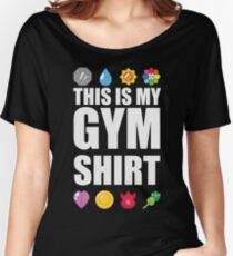 Kanto Gym Shirt Women's Relaxed Fit T-Shirt