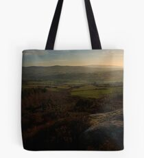 Across The Finn Valley From Croaghan Hill Tote Bag