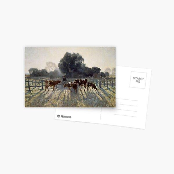 Elioth Gruner - Spring Frost 1919 Postcard