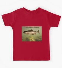 Chinook Salmon Kids Tee