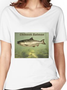 Chinook Salmon Women's Relaxed Fit T-Shirt