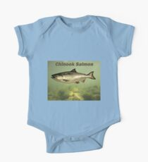 Chinook Salmon One Piece - Short Sleeve