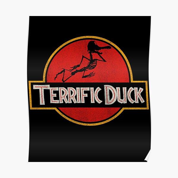 Terrific Duck - Parodie drôle de logo de film Poster